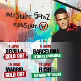 Alejandro Sanz La gira