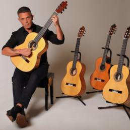 Alejandro Sanz crea cuatro guitarras