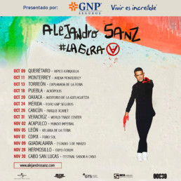 alejandro sanz gira #LaGira méxico