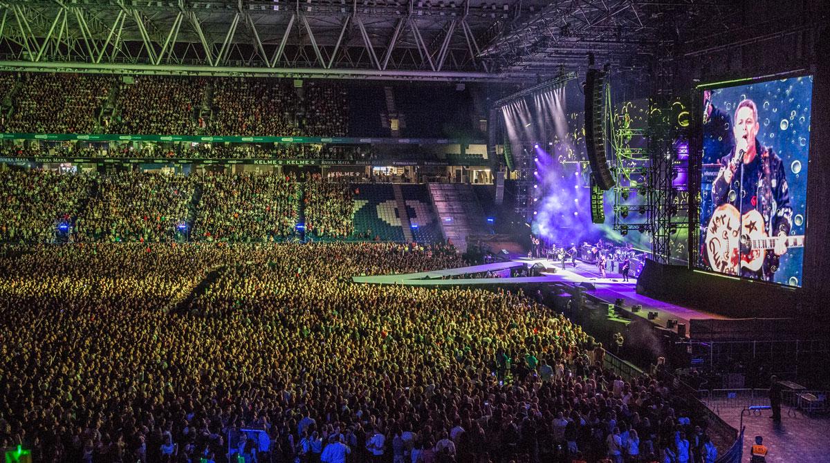 alejandro sanz concierto #LaGira barcelona RDCE Stadium