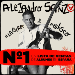 alejandro sanz numero 1 ventas españa #lagira de #eldisco